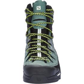 Salomon X Alp High LTR GTX Zapatillas Hombre, urban chic/balsam green/lime green